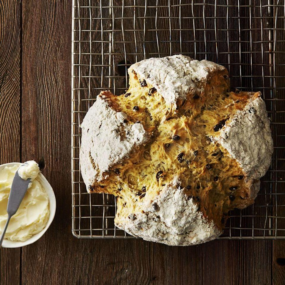"""<p>When it comes to celebrating St. Paddy's Day, one thing's that absolutely essential (besides the <a href=""""https://www.goodhousekeeping.com/food-recipes/easy/videos/a37082/how-to-make-green-beer/"""" rel=""""nofollow noopener"""" target=""""_blank"""" data-ylk=""""slk:green beer"""" class=""""link rapid-noclick-resp"""">green beer</a>, of course) is a spread full of the most festive and delicious <a href=""""https://www.goodhousekeeping.com/food-recipes/dessert/g3262/st-patricks-day-desserts/"""" rel=""""nofollow noopener"""" target=""""_blank"""" data-ylk=""""slk:St. Patrick's Day desserts"""" class=""""link rapid-noclick-resp"""">St. Patrick's Day desserts</a>. But instead of picking up the green food dye, why not indulge in one of these traditional Irish desserts, all infused with The Emerald Isle's best and most classic flavors?</p><p>This year, dive into some of the best Irish dessert recipes to round out your filling St. Patrick's Day meal — including everything from Irish apple cake to barmbrack (a traditional Irish fruit cake) and, of course, a classic Irish soda bread. And if you're looking for something boozy, don't worry: we have desserts that involve Baileys Irish Cream and Guinness, too! No matter how you're spending St. Paddy's this year, these scrumptious bites will definitely be the highlight of your celebration — especially if you're pairing them with some festive <a href=""""https://www.goodhousekeeping.com/holidays/g3264/green-drinks/"""" rel=""""nofollow noopener"""" target=""""_blank"""" data-ylk=""""slk:St. Patrick's Day drinks"""" class=""""link rapid-noclick-resp"""">St. Patrick's Day drinks</a>.<br></p>"""