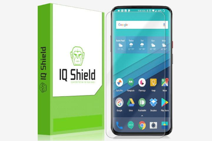 best oneplus 7 pro screen protectors iqshield