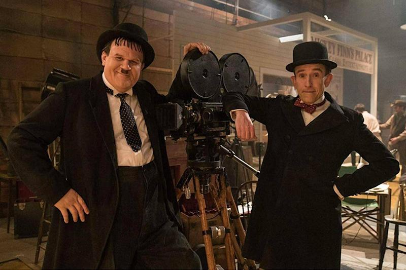 John C Reilly and Steve Coogan as Oliver Hardy and Stan Laurel (Entertainment One Films)