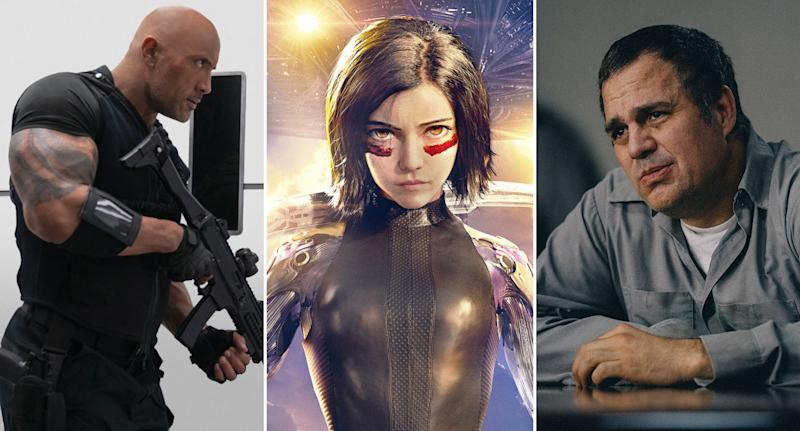 Hobbs and Shaw, Alita: Battle Angel, and are all coming to Now TV in May.