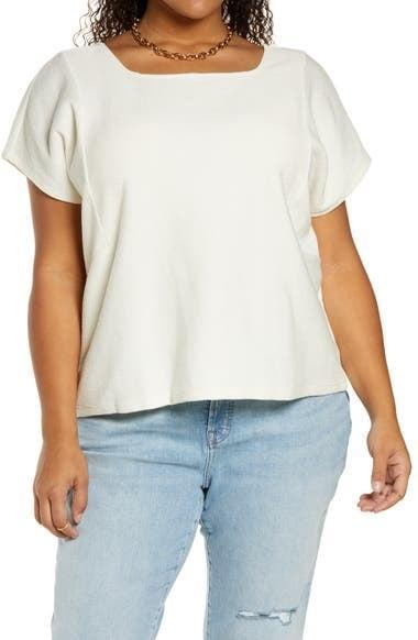 <p>This <span>Madewell Flik Organic Cotton T-Shirt</span> ($45) will go well with all your bottoms.</p>