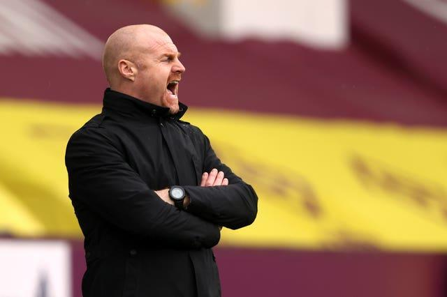 Sean Dyche's Burnley have lost each of their opening two games this season (Clive Brunskill/PA).