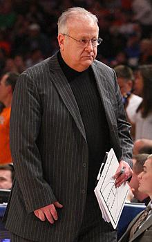 Syracuse assistant Bernie Fine was placed on leave Thursday