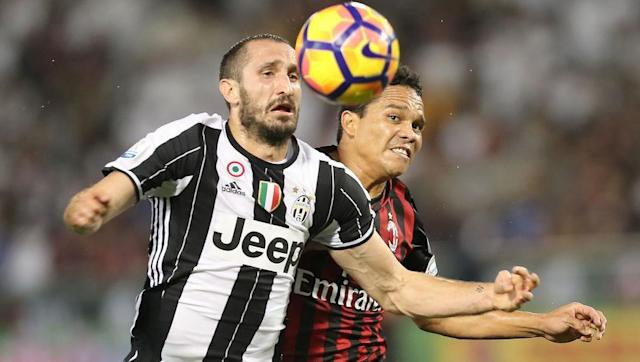 <p>Another player who certainly doesn't lack experience.</p> <p>Chiellini is another Italian defender who just simply gets better with age.</p> <p>However, the centre-back has missed the last two Juve games with a muscular problem, and it remains unclear whether he will start Sunday's encounter</p>
