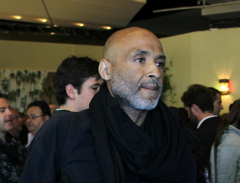 US photographer Stanley Greene is pictured at the 63rd Cannes Film Festival on May 16, 2010