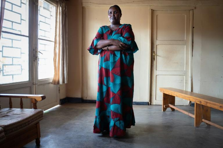 Therapist Emilienne Mukansoro, who lost her father, eight siblings and other family members in the genocide, has worked with rape victims for 18 years