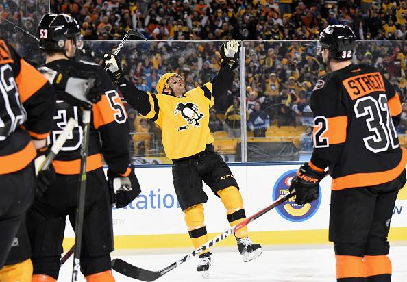 874d8dae7a5 Matt Cullen makes the most of his first NHL outdoor game experience