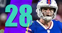 <p>Derek Anderson was hurt late in the Monday night loss, and if it's bad that might mean a Nathan Peterman start next week. That's something. (Derek Anderson) </p>