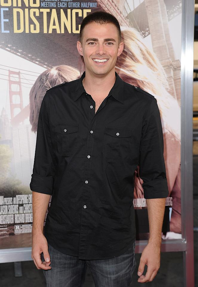 "<a href=""http://movies.yahoo.com/movie/contributor/1808421564"">Jonathan Bennett</a> at the Los Angeles premiere of <a href=""http://movies.yahoo.com/movie/1810105852/info"">Going the Distance</a> - 08/23/2010"