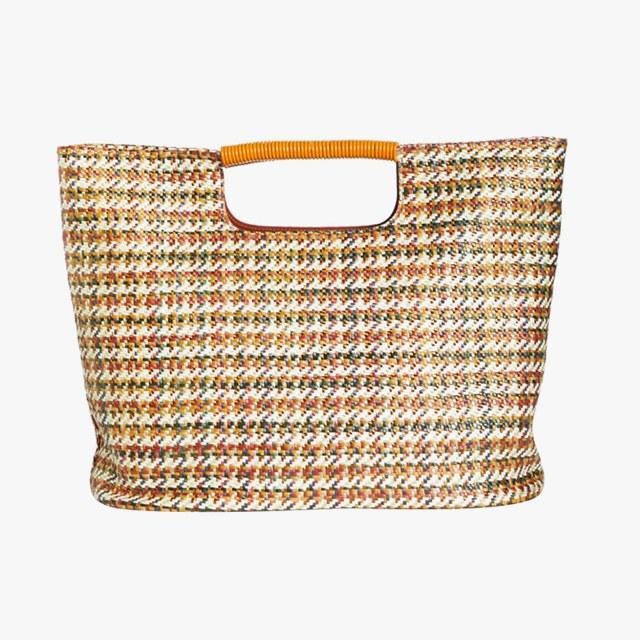 Simon Miller medium birch houndstooth tote, was $470, now $282, nordstrom.com 40% off