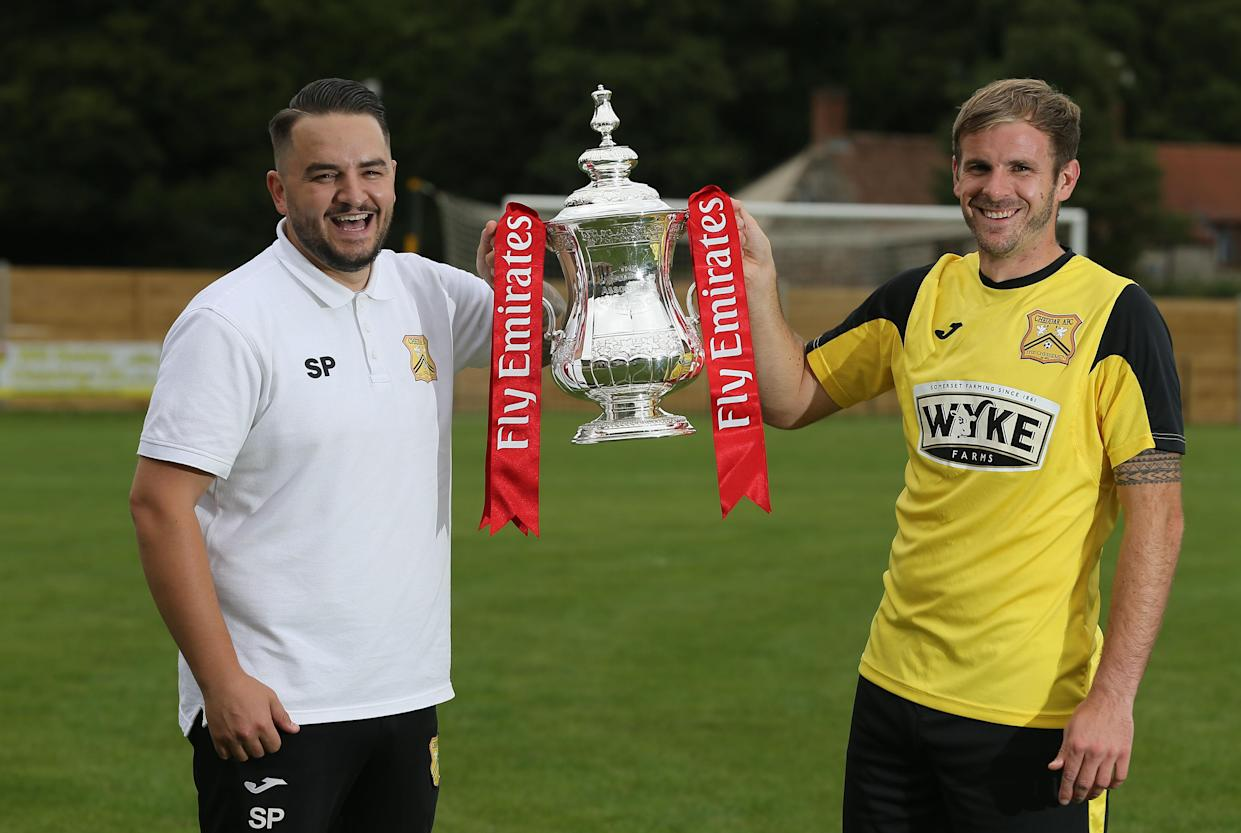 Up for the Cup: Cheddar go for glory at Yate Town this weekend