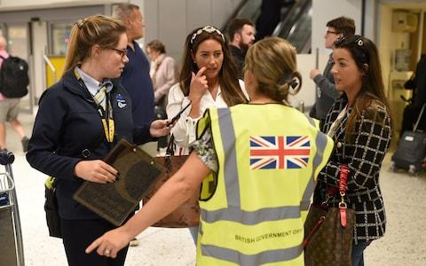 Manchester AIrport - Credit: OLI SCARFF/AFP