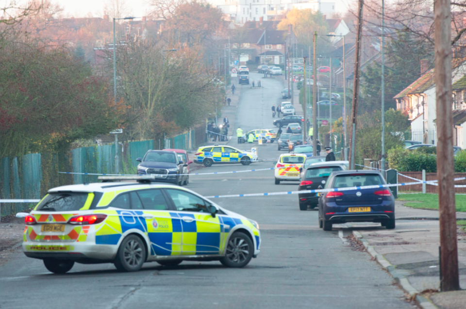 Harley died in hospital after the crash outside Debden Park High School in Loughton (PA)
