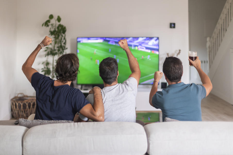 Football's coming home? Shop the best TV's to watch the Euros this summer.  (Getty Images)