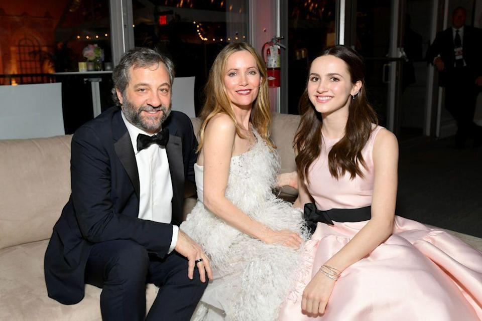 <p><em>Euphoria </em>and <em>Kind of Staten Island </em>rising star Maude Apatow is the daughter of famous Hollywood duo Leslie Mann and Judd Apatow. </p>
