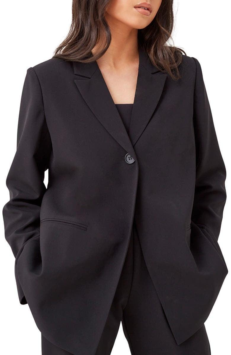 <p>If you already have a fitted blazer, we recommend making your next investment the <span>4th and Reckless Aiden Oversize Blazer</span> ($75). The chicly oversize fit is the perfect layering piece. Ideally, we'll be wearing it with a mock-neck tank and a pair of flattering jeans.</p>