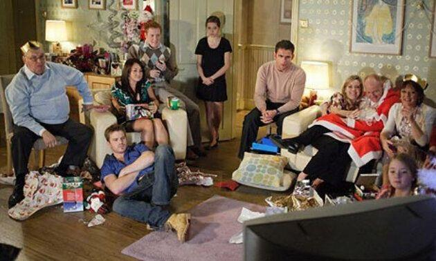 The EastEnders 2007 Christmas special was watched by over 14 million (Photo: BBC)