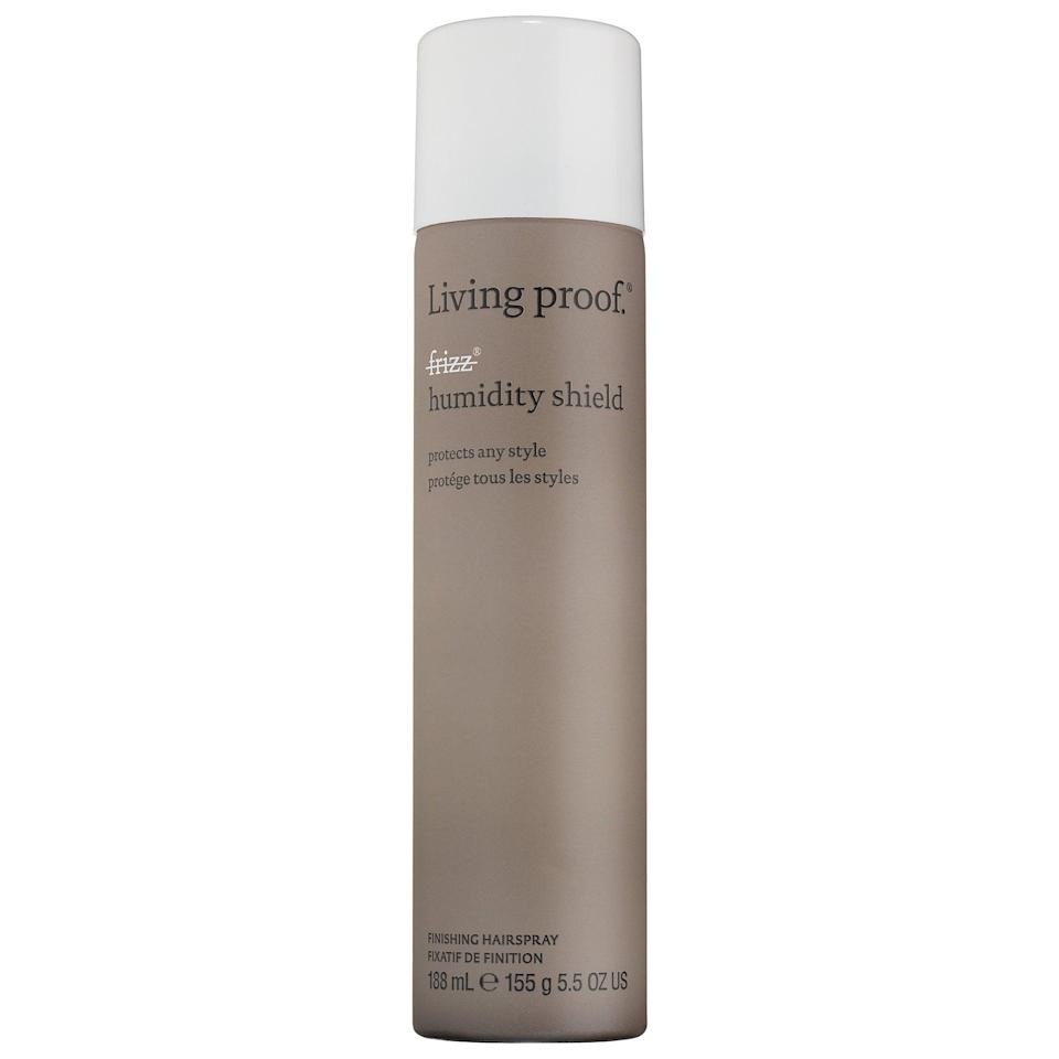 <p>Finish up your preferred styles with the bestselling <span>Living Proof No Frizz Humidity Shield</span> ($15-$24) this summer. Just a few spritzes on dry hair add static control along with protection against humidity and UV rays.</p>