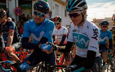 <span>Mikel Landa (left) is desperate to take the general classification reins in a grand tour</span> <span>Credit: GETTY IMAGES </span>