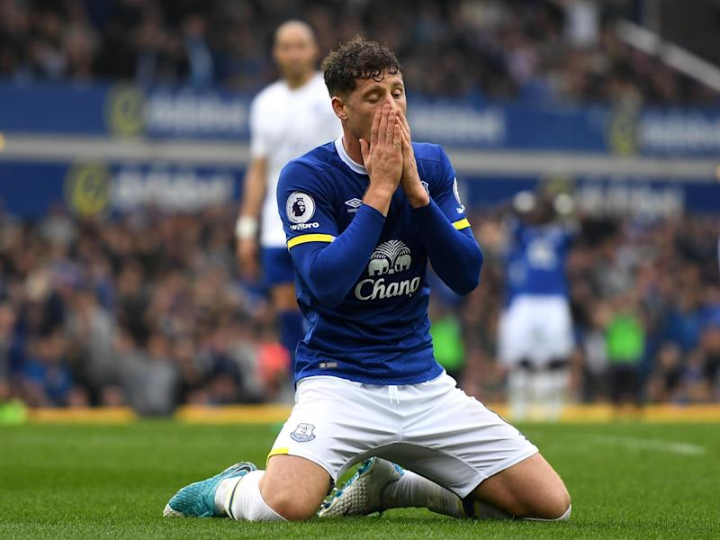 Barkley is yet to agree a new deal with boyhood club Everton: Getty
