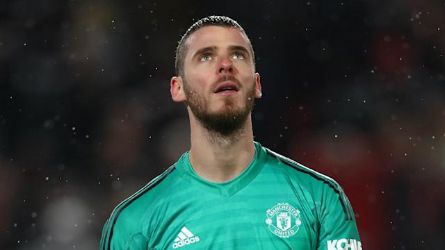 David De Gea issued a rallying cry ahead of Manchester United's Champions League quarter-final second leg at Barcelona.