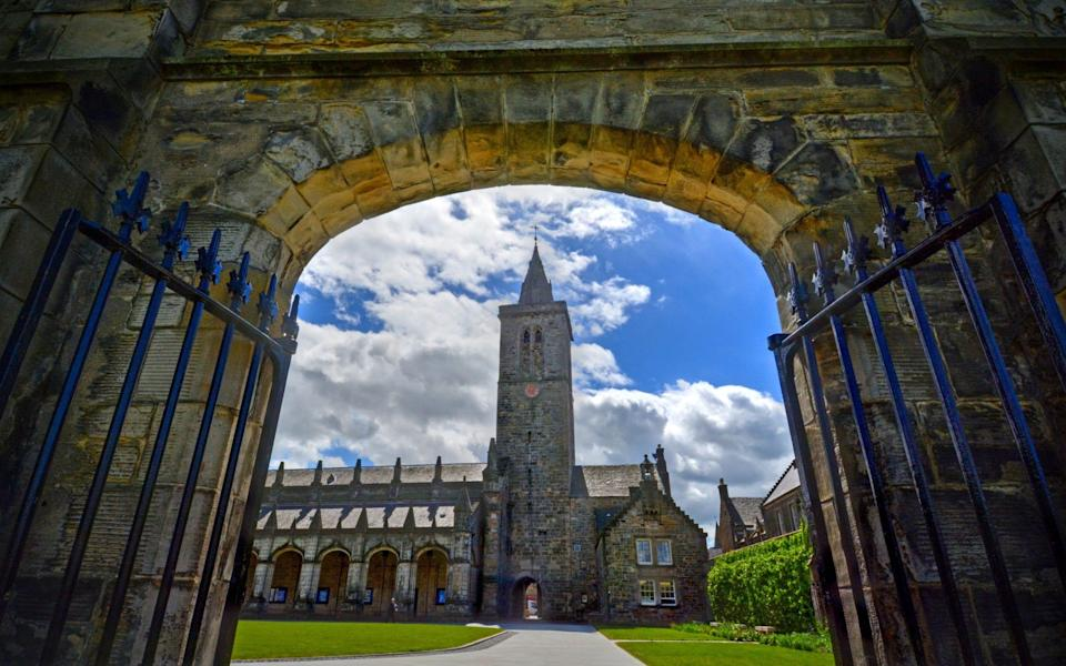 St Andrews was one of the few universities that managed to broadly sustain student satisfaction rates despite the pandemic - JByard/iStockphoto