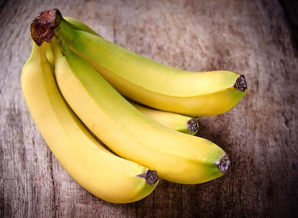"""You might think that all bananas are pretty much the same—yellow, long, slightly curved, and oh-so-sweet—but it turns out that there are more than <a href=""""https://www.berkeleywellness.com/healthy-eating/food/article/types-bananas"""" rel=""""nofollow noopener"""" target=""""_blank"""" data-ylk=""""slk:500 different kinds of bananas"""" class=""""link rapid-noclick-resp"""">500 different kinds of bananas</a>. Fruit-lovers in the United States tend to eat Cavendish bananas, but there are also Baby (Niño) bananas, Orinoco bananas, Ice Cream (Blue Java) bananas, Manzano bananas, and even red bananas."""