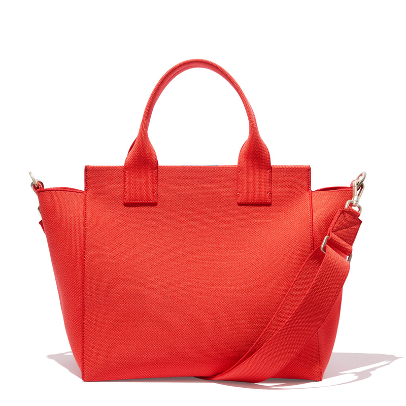 "<p>The top-handle/adjustable strap and minimalistic lines make this handbag the perfect stylish addition to your capsule wardrobe. It's casual enough to wear with jeans, but also professional enough to dress up for the office. Plus, the structured silhouette and pop of color is<em> so</em> Meghan Markle. </p> <p><strong>To buy</strong>: $350, <a href=""https://click.linksynergy.com/deeplink?id=93xLBvPhAeE&mid=41244&murl=https%3A%2F%2Frothys.com%2Fbags%2Fproducts%2Fthe-handbag%3Fcolor%3DBright-Poppy&u1=RS%2CMeghanMarkle%2527sFavoriteShoeBrandRothy%2527sLaunchedSustainableTotesandPurses%2Chhong%2CSTY%2CIMA%2C695279%2C202003%2CI"" target=""_blank"">rothys.com</a>.</p>"