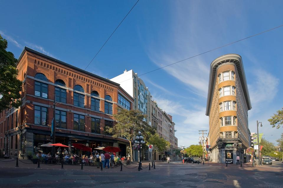 Gastown is Vancouver's oldest and most characterful neighbourhood - Credit: Getty