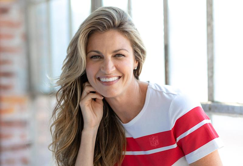 The Fox sportscaster's first clothing line, Wear by Erin Andrews, is designed for game day and beyond. (Photo: NFL)