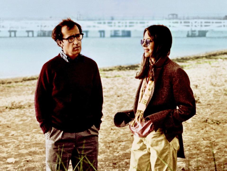 Woody Allen and Diane Keaton in 'Annie Hall'Rollins-Joffe/United Artists/Kobal/Shutterstock