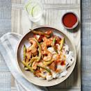 <p>This healthy eggplant and shrimp stir-fry recipe has a Korean-inspired gochujang sauce. Because stir-fries cook up quickly, have all the ingredients prepped and next to the stove before you turn on the heat. Serve over brown rice or rice noodles.</p>