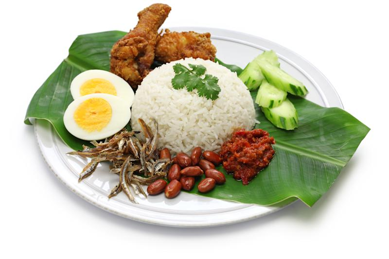 Nasi lemak. (PHOTO: Getty Images)