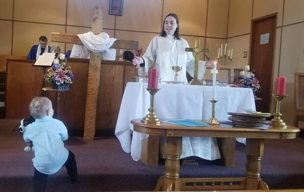 Alison Etter is the reverend at the Knox and Warden United churches in Glace Bay, N.S.