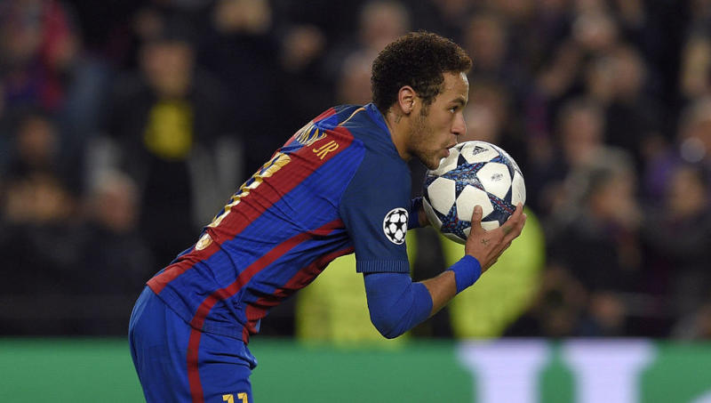 Barcelona Star Neymar Names the 3 Strikers He Admires the Most Right Now