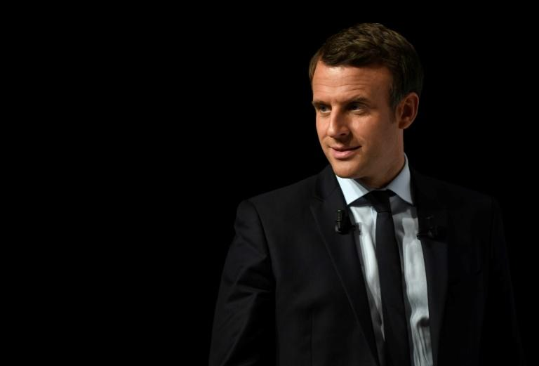 Polls show Emmanuel Macron winning by about 20 points