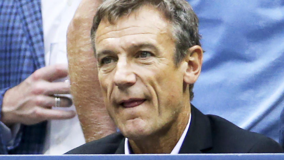 Mats Wilander, pictured here at the US Open in 2018.