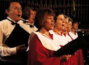 <p>Many churches, community theater groups, local choirs and other venues hold concerts or performances during the holiday season. If watching a show in person isn't possible this year, pull one up on YouTube to get the experience from the comfort of your couch. </p>