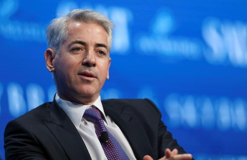 Ackman says Pershing Square no longer has hedges on stocks