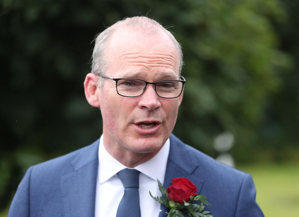 Irish minister for foreign affairs and defence Simon Coveney. Photo: Niall Carson/PA via Getty Images