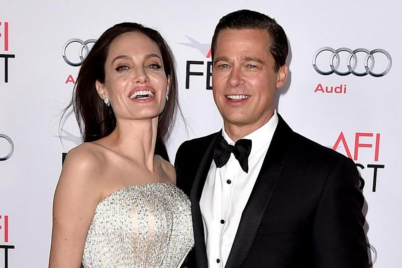 Attractive: Actress Angelina Jolie Pitt and husband Brad Pitt announced they were to split last year: Kevin Winter/Getty Images