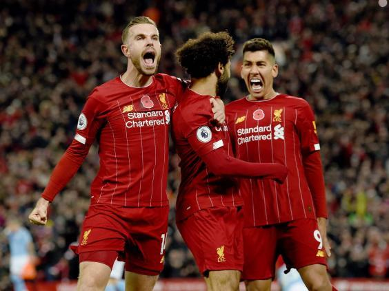 Liverpool took control early and never looked back (Liverpool FC via Getty Images)