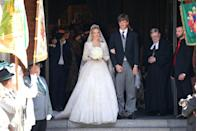 """<p>Prince Ernst-August V, brother-in-law to Prince Albert of Monaco and stepson of Princess Caroline of Monaco, took umbrage at his son's choice of a bride. When Prince Ernst-August Jr. of Hanover <a href=""""https://www.hellomagazine.com/royalty/gallery/2018031569531/prince-ernst-august-jr-hanover-royal-wedding/1/"""" rel=""""nofollow noopener"""" target=""""_blank"""" data-ylk=""""slk:got married to Ekaterina Malysheva"""" class=""""link rapid-noclick-resp"""">got married to Ekaterina Malysheva</a> in 2017, his father wasn't in attendance. Of his decision to skip the nuptials, which allegedly boiled down to an argument over castle ownership, Prince Ernst-August V said (via <em><a href=""""https://people.com/royals/prince-ernst-august-publicly-opposes-sons-marriage/"""" rel=""""nofollow noopener"""" target=""""_blank"""" data-ylk=""""slk:People"""" class=""""link rapid-noclick-resp"""">People</a></em>), """"The decision was not easy for me because it concerns my son. ... But I am constrained to preserve the interests of the House of Hanover and the property, including cultural property, which has been its property for centuries."""" Okay, then.</p>"""