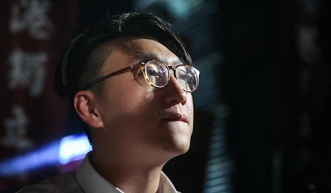 Edward Leung, who secured 16 per cent of votes in the New Territories East by-election in February 2016, was disqualified five months later. Photo: Sam Tsang