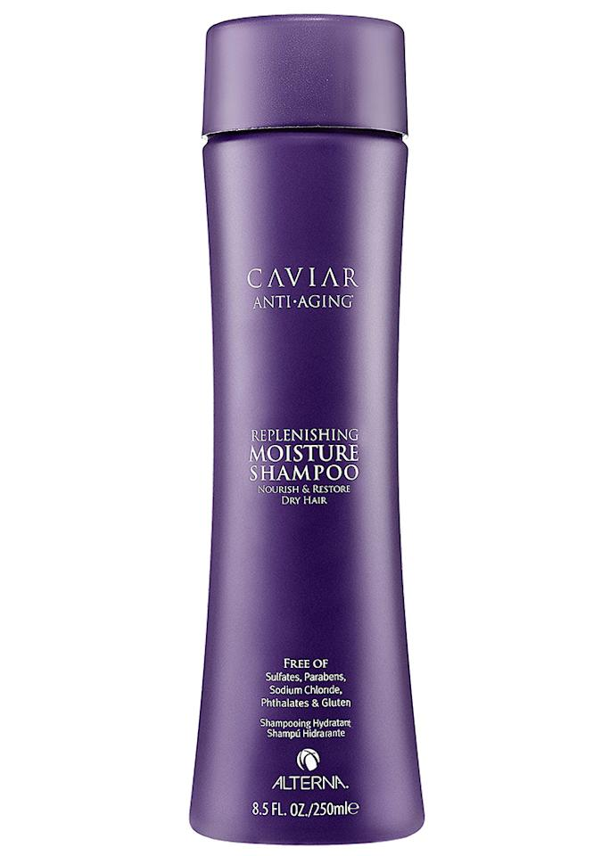 "Alterna Caviar Moisture Shampoo, $34; at <a rel=""nofollow"" href=""http://www.saksfifthavenue.com/main/ProductDetail.jsp?PRODUCT%3C%3Eprd_id=845524446674201&"">Saks Fifth Avenue</a>"