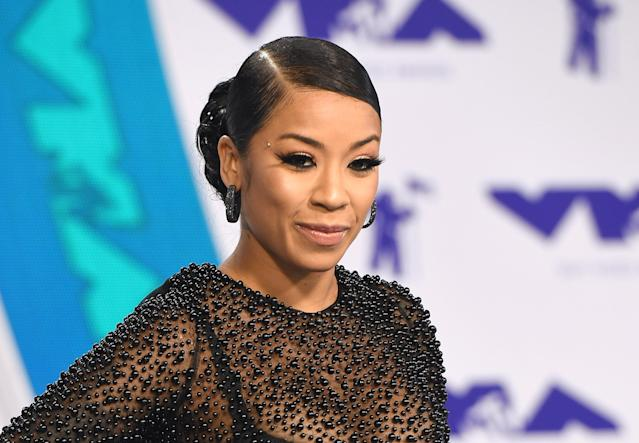 Keyshia Cole's pregnancy post has sparked backlash. (Photo: C Flanigan/Getty Images)