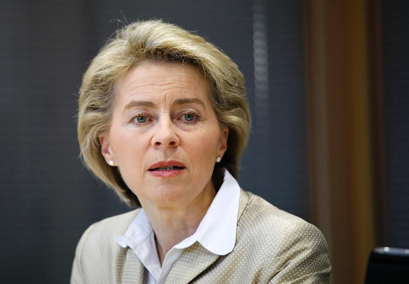 German Defence Minister Ursula von der Leyen said that the NATO target of spending two percent of GDP on defence painted an incomplete picture of actual contributions