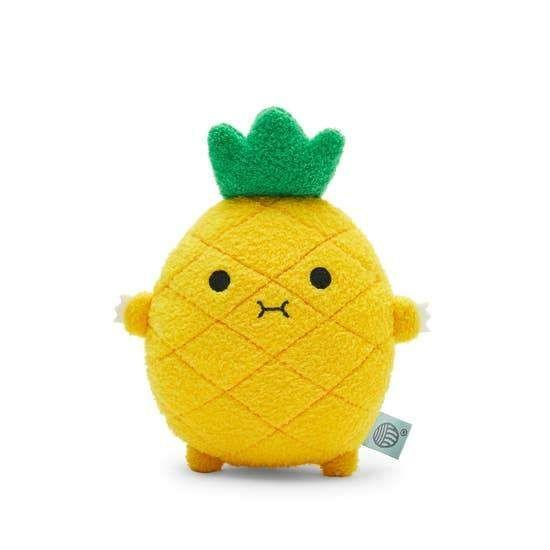 """<p><strong>Noodoll</strong></p><p>kidochicago.com</p><p><strong>$17.50</strong></p><p><a href=""""https://store.kidochicago.com/collections/shop-all-toys/products/riceananas-mini"""" rel=""""nofollow noopener"""" target=""""_blank"""" data-ylk=""""slk:Shop Now"""" class=""""link rapid-noclick-resp"""">Shop Now</a></p><p>Taking the mantle from avocados, pineapples are the new """"it"""" fruit, and even the littlest kids can get in on the trend. This soft plush even has a handy strap on the back so babies and toddlers can get a better grip on it. <em>Ages 0+</em></p>"""