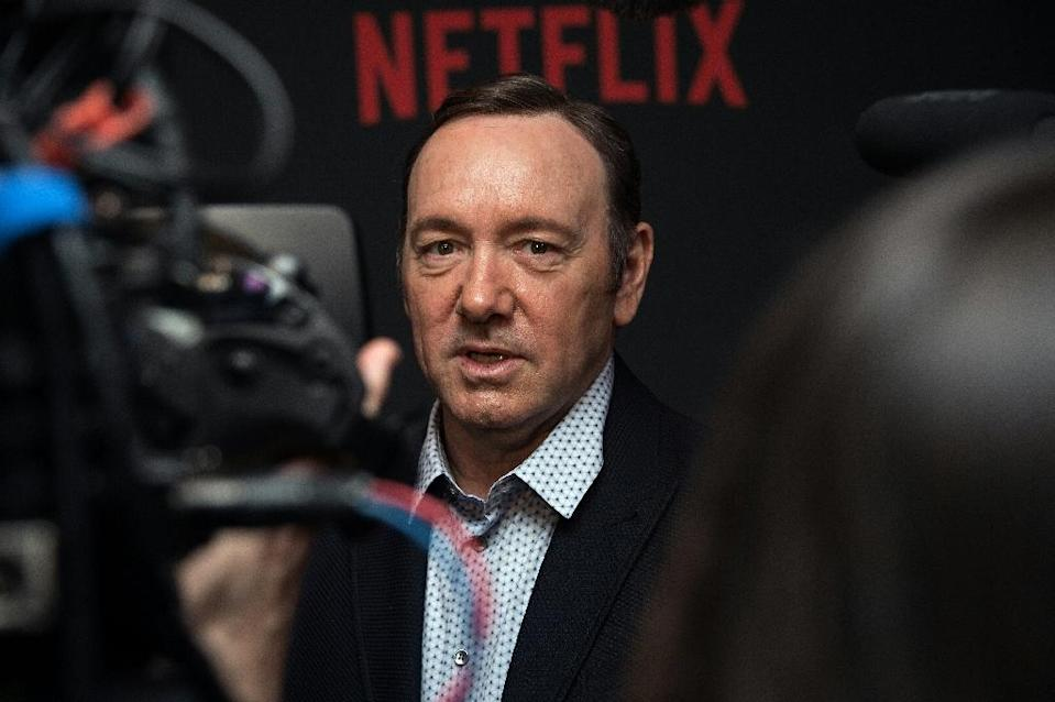 Kevin Spacey faces a string of allegations of sexual harassment (AFP Photo/Nicholas Kamm)