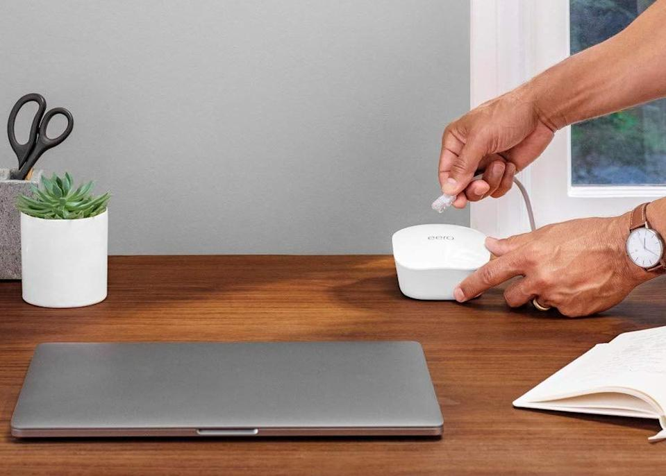 Upgrade your home Wi-Fi network and save. (Photo: eero)